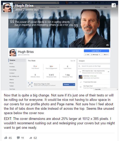 פייסבוק בניסוי חדש