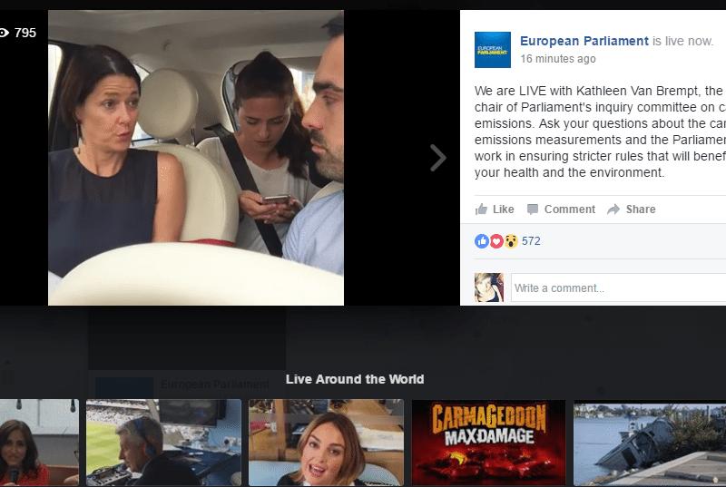 שידורים חיים פייסבוק