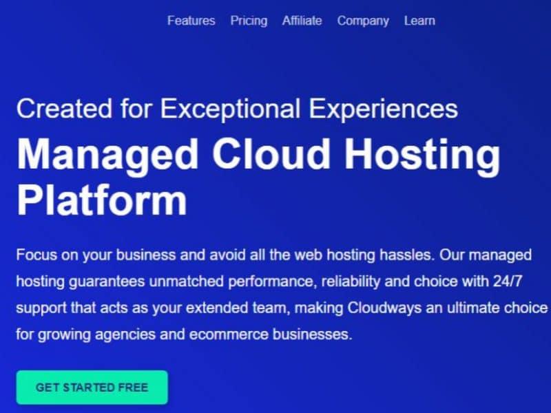 אחסון מנוהל בענן Cloudways
